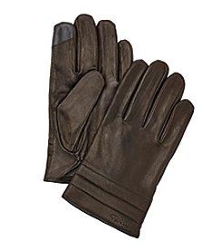 Calvin Klein Quilted Cuff Gloves