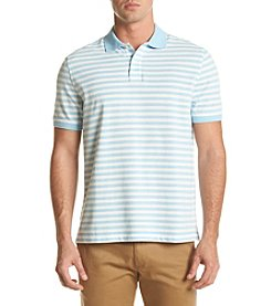 John Bartlett Consensus Men's Classic Fit Feeder Stripe Pique Polo