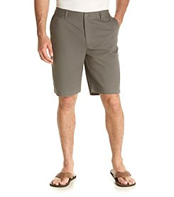 John Bartlett Consensus Men's Solid Flat Front Shorts