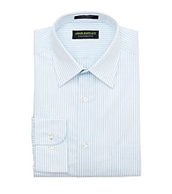 John Bartlett Statements Men's Regular Fit Mini Stripe Spread Collar Dress Shirt