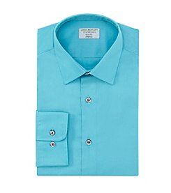 John Bartlett Statements Men's Slim Fit Spread Collar Dress Shirt