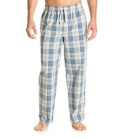 John Bartlett Statements Men's Woven Plaid Sleep Pants