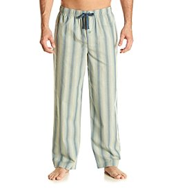 John Bartlett Statements Men's Woven Stripe Sleep Pants