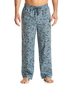 John Bartlett Statements Men's Woven Cerveza Print Sleep Pants