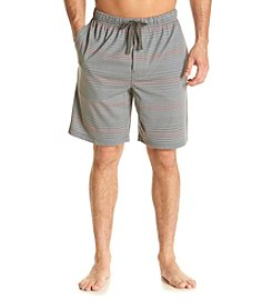 John Bartlett Statements Men's Stripe Knit Sleep Shorts