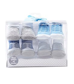 Cuddle Bear® Baby Boys 4-Pack Dress Socks