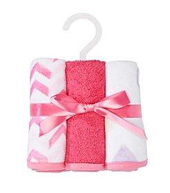Cuddle Bear® Baby Girls' 6-Pack Washcloths