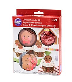 Wilton Bakeware® Gingerbread Boy Cupcake Decorating Kit