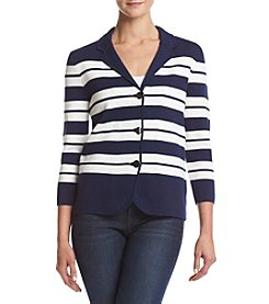 Kasper® Striped Sweater