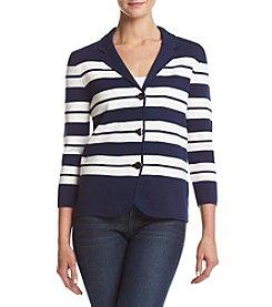 Kasper® Striped Sweater