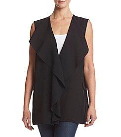 Calvin Klein Ruffle Front Vest