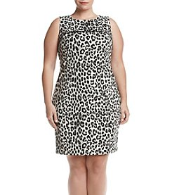 MICHAEL Michael Kors® Plus Size Cheetah Print Dress