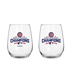 Boelter Brands MLB® Chicago Cubs World Series Stemless Wine Glass