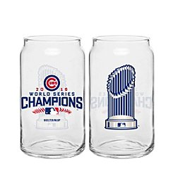 Boelter Brands MLB® Chicago Cubs World Series Trophy Glass Can