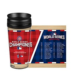 Boelter Brands Cubs World Series Roster Tumbler