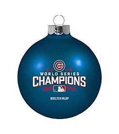 Boelter Brands MLB® Chicago Cubs World Series Small Glass Ornament