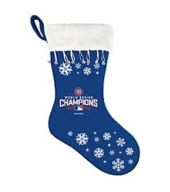Boelter Brands MLB® Chicago Cubs World Series Snowflake Stocking