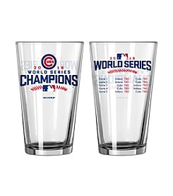 Boelter Brands MLB® Chicago Cubs World Series Summary Pint