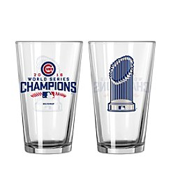 Boelter Brands MLB® Chicago Cubs World Series Trophy Pint Glass