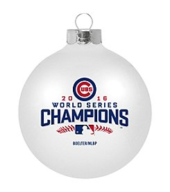 Boelter Brands MLB® Chicago Cubs World Series Large Glass Ornament