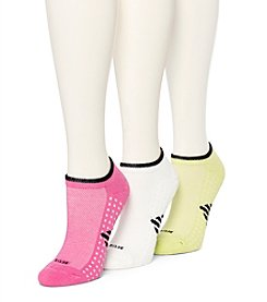HUE® 4-Pack Air Cushion No-Show Socks
