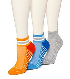 HUE® Air Cushion Quarter Top 4-pk. Socks