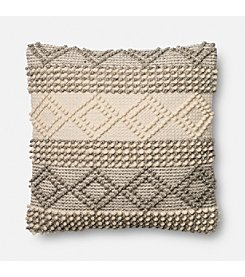 Magnolia Home by Joanna Gaines™ Raised Stitch Decorative Pillow