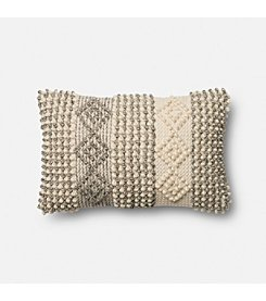 Magnolia Home by Joanna Gaines™ Raised Geometric Stitching Decorative Pillow