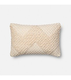 Magnolia Home by Joanna Gaines™ Textured Chevron Stitch Decorative Pillow