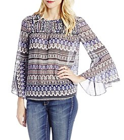 Jessica Simpson Wilma Peasant Top
