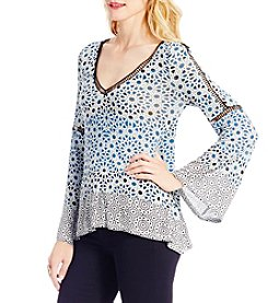 Jessica Simpson Ladria Peasant Top
