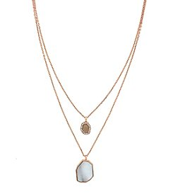 Vince Camuto™ Shell Layered Necklace