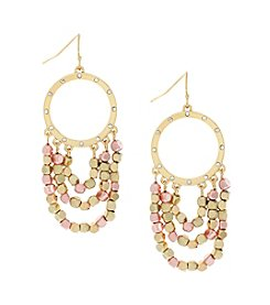 Jessica Simpson Swag Earrings