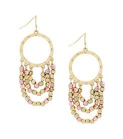 Jessica Simpson Swag Earrings