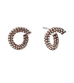 MICHAEL Michael Kors® Pave Huggie Earrings