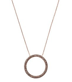 MICHAEL Michael Kors® Open Circle Pendant Necklace
