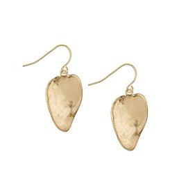 The Sak® Goldtone Scoop Drop Earrings