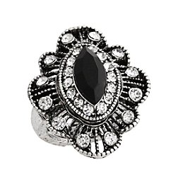 Erica Lyons® Filigree Fashion Stretch Ring