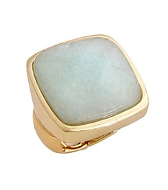 Erica Lyons® Square Fashion Stretch Ring