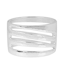 Robert Lee Morris Soho™ Hammered Wide Bangle Bracelet