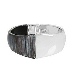 Robert Lee Morris Soho™ Sculptural Hinged Bangle Bracelet