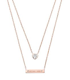 Michael Kors® Layered Pendant Necklace