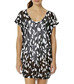Anne Cole® V-Neck Mesh Cover Up