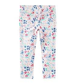 OshKosh B'Gosh® Girls' 2T-6X Floral Printed Leggings