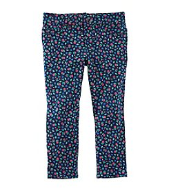 OshKosh B'Gosh® Girls' 2T-3T Floral Printed Leggings