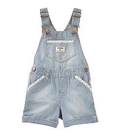 OshKosh B'Gosh® Girls' 2T-6X Denim Striped Shortall