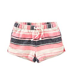 OshKosh B'Gosh® Girls' 2T-8 Multi Striped Woven Shorts