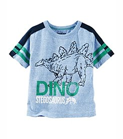 OshKosh B'Gosh® Boys' 2T-7 Dino Short Sleeve Tee