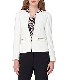 Tahari ASL® Zip Front Jacket