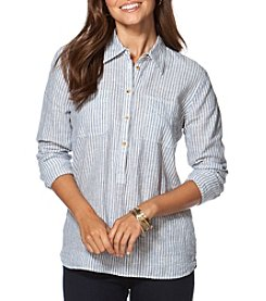 Chaps® Stripe Long Sleeve Shirt